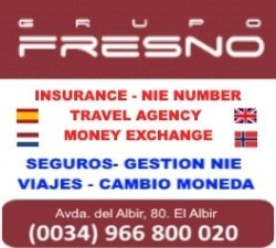GRUPO FRESNO (travel - insurance - NIE - change currency)